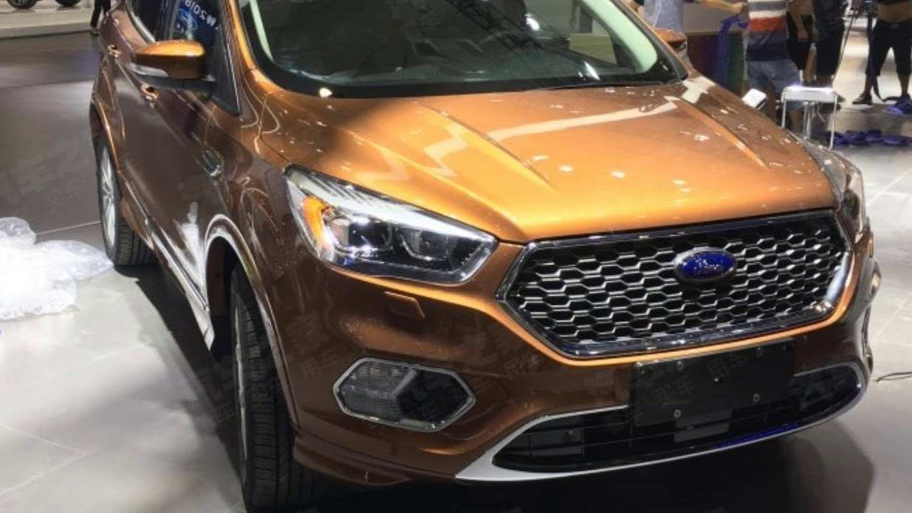 37 Best Review 2019 Ford Kuga Exterior by 2019 Ford Kuga