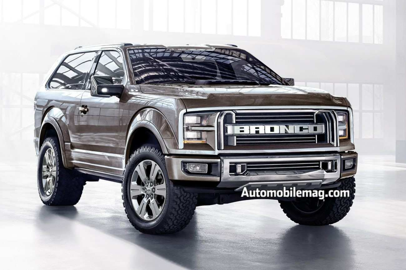 37 Gallery of 2020 Ford Bronco Look Specs with 2020 Ford Bronco Look