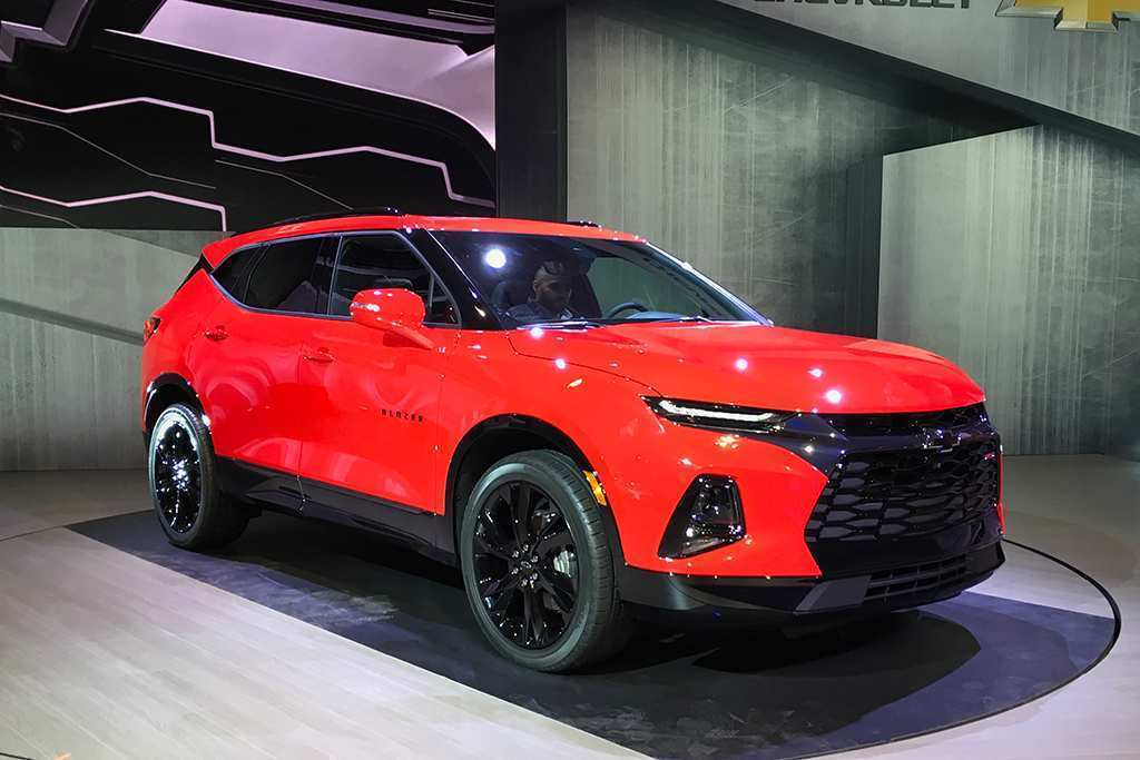 37 Great 2019 Chevrolet Blazer Release Date Rumors by 2019 Chevrolet Blazer Release Date