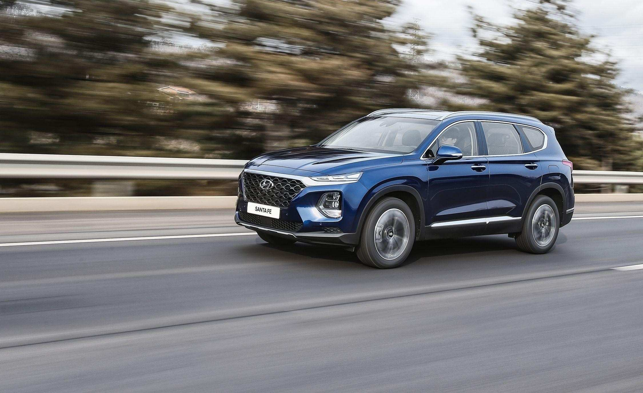 37 Great 2019 Hyundai Santa Fe Test Drive Redesign and Concept by 2019 Hyundai Santa Fe Test Drive