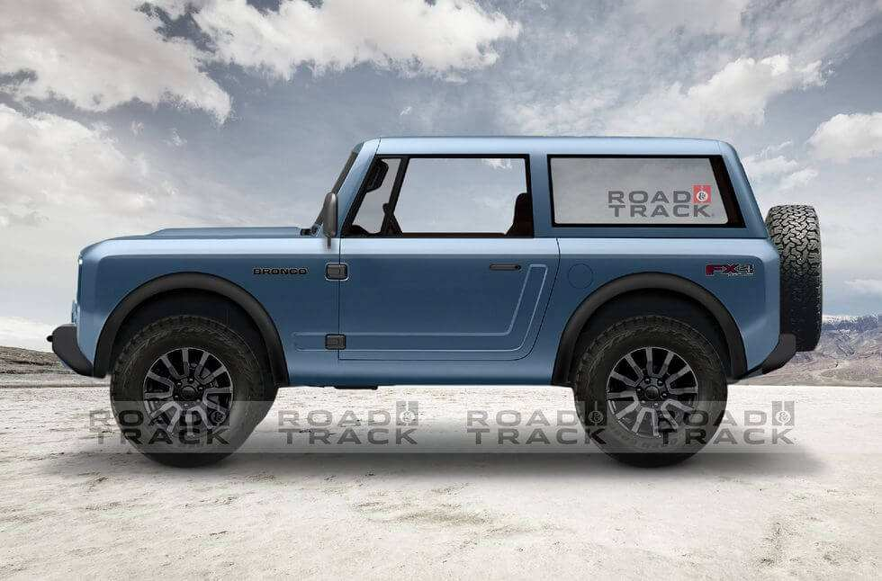 37 New 2019 Ford Bronco 4 Door Exterior for 2019 Ford Bronco 4 Door