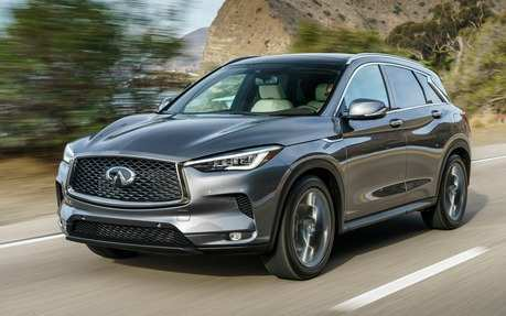 38 All New 2019 Infiniti Gx50 Spy Shoot with 2019 Infiniti Gx50