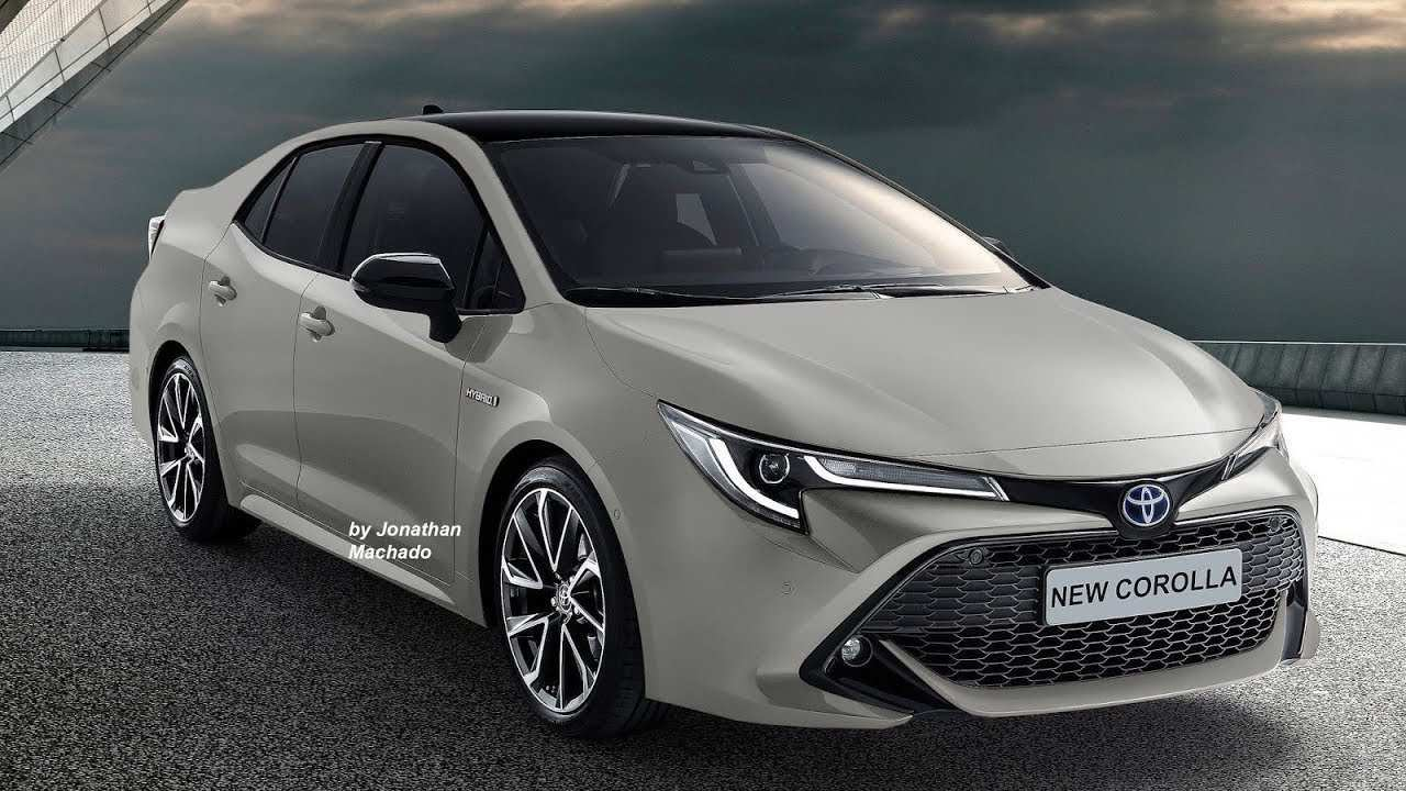 38 Concept of 2019 New Toyota Corolla Redesign and Concept by 2019 New Toyota Corolla