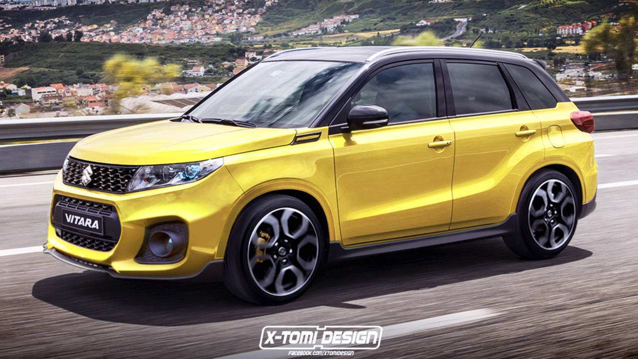 38 Concept of 2019 Suzuki Vitara Wallpaper with 2019 Suzuki Vitara