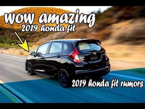 38 Gallery of 2019 Honda Fit Rumors Interior with 2019 Honda Fit Rumors
