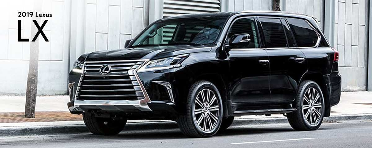 38 Gallery of 2019 Lexus Lx New Concept by 2019 Lexus Lx