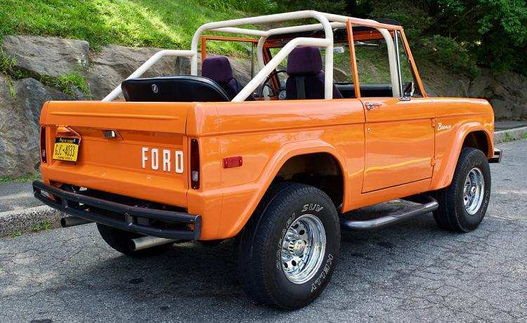 38 Gallery of 2020 Orange Ford Bronco Spesification by 2020 Orange Ford Bronco