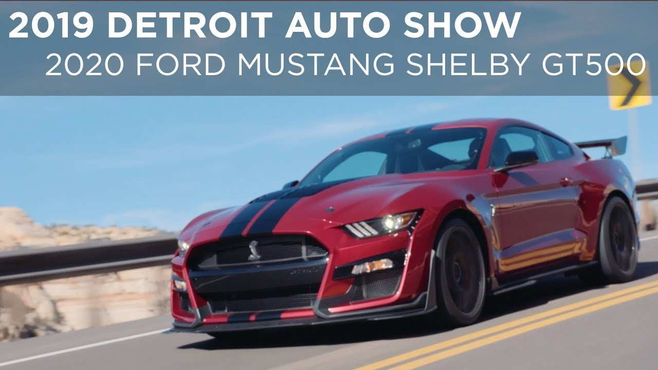 38 Great 2019 Ford Shelby Gt500 Spesification by 2019 Ford Shelby Gt500
