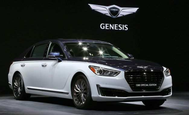 38 The 2019 Genesis V8 Spy Shoot by 2019 Genesis V8
