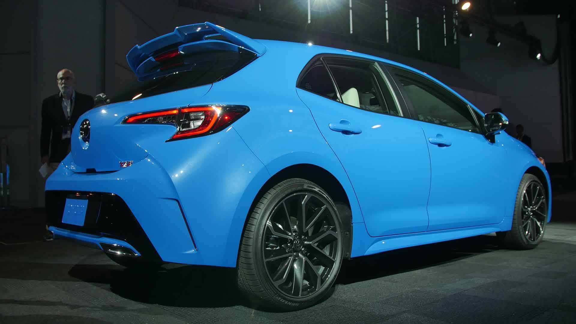 38 The 2019 Toyota Corolla Hatchback Release Date with 2019 Toyota Corolla Hatchback