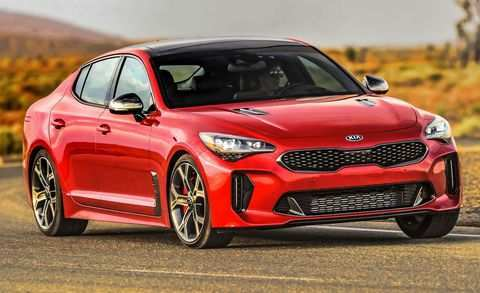 39 Gallery of 2019 Kia Stinger Redesign by 2019 Kia Stinger