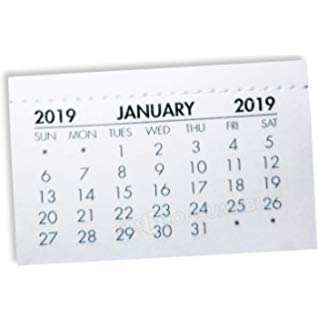 39 Great 2019 Mini Tear Off Calendar Reviews by 2019 Mini Tear Off Calendar