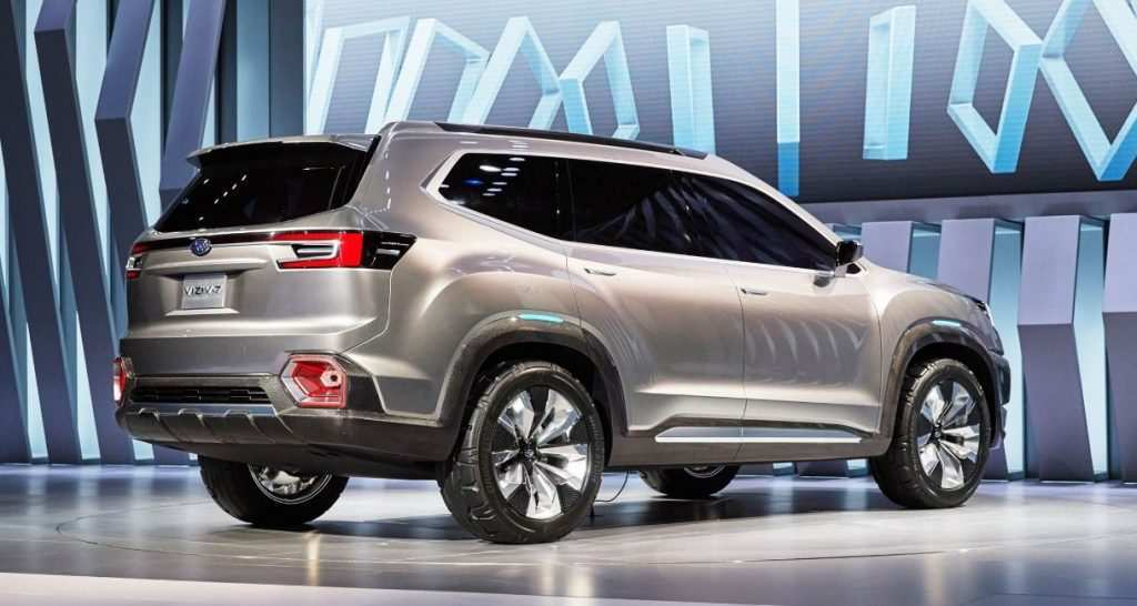 39 New 2019 Subaru Ascent Dimensions History with 2019 Subaru Ascent Dimensions