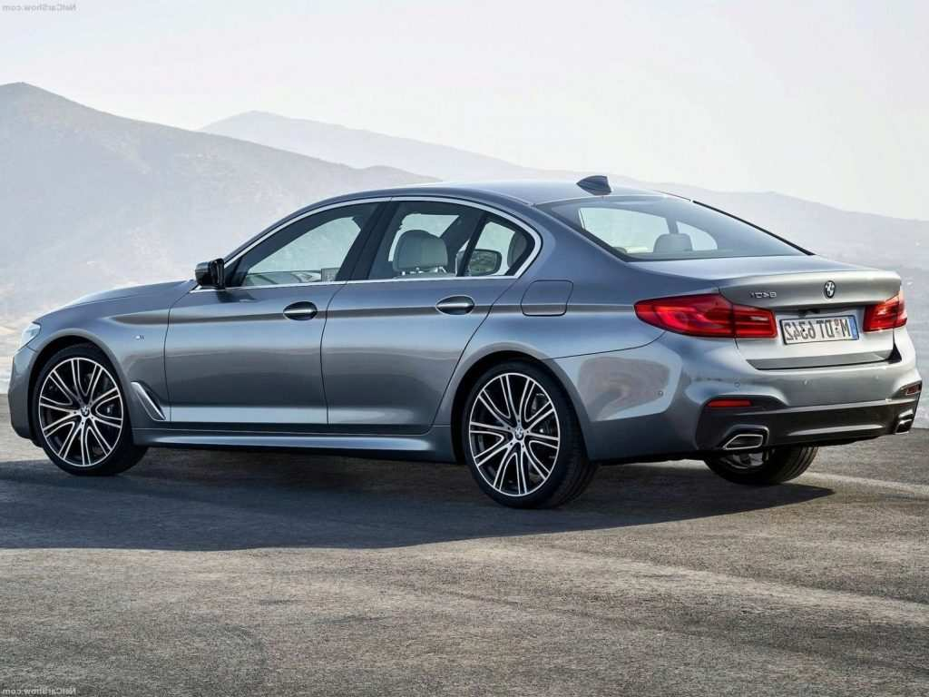 40 All New 2019 Bmw 5 Series Redesign Spy Shoot by 2019 Bmw 5 Series Redesign