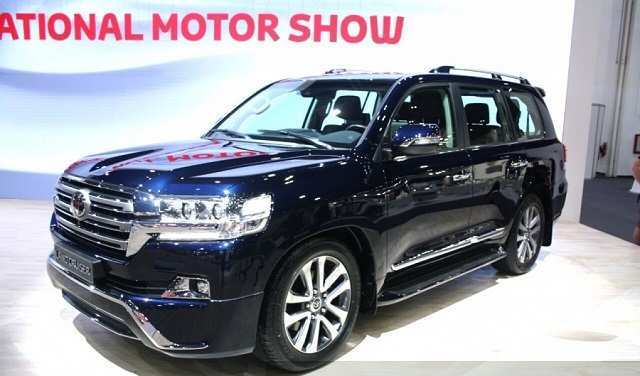 40 All New 2019 Toyota Land Cruiser Redesign Exterior for 2019 Toyota Land Cruiser Redesign