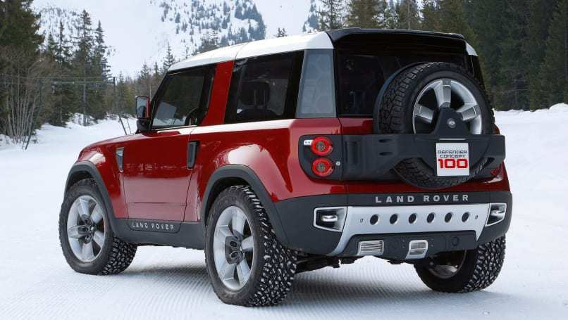 40 Best Review 2019 Land Rover Defender Ute Exterior by 2019 Land Rover Defender Ute