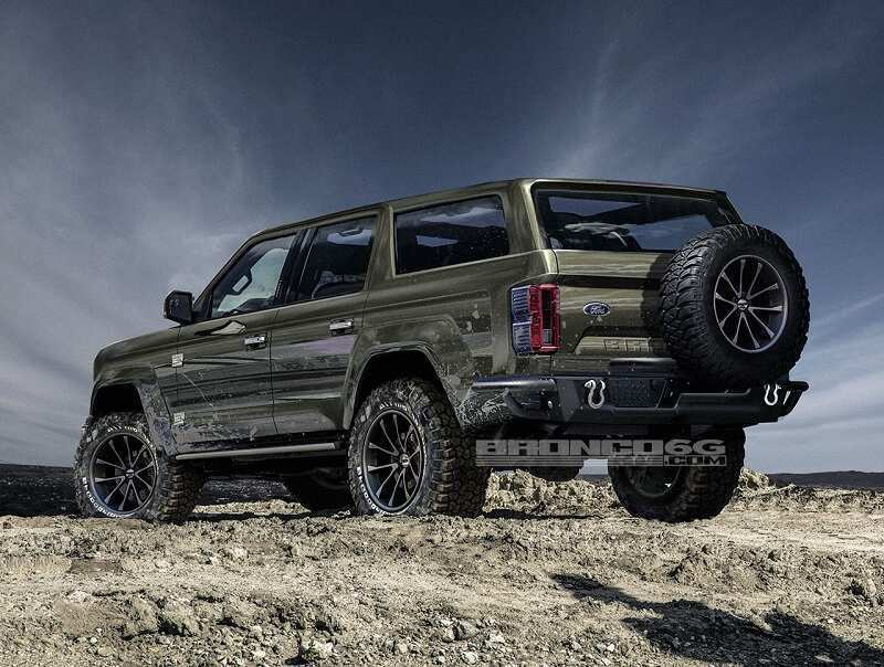 40 Best Review 2020 Ford Bronco Lifted Redesign by 2020 Ford Bronco Lifted
