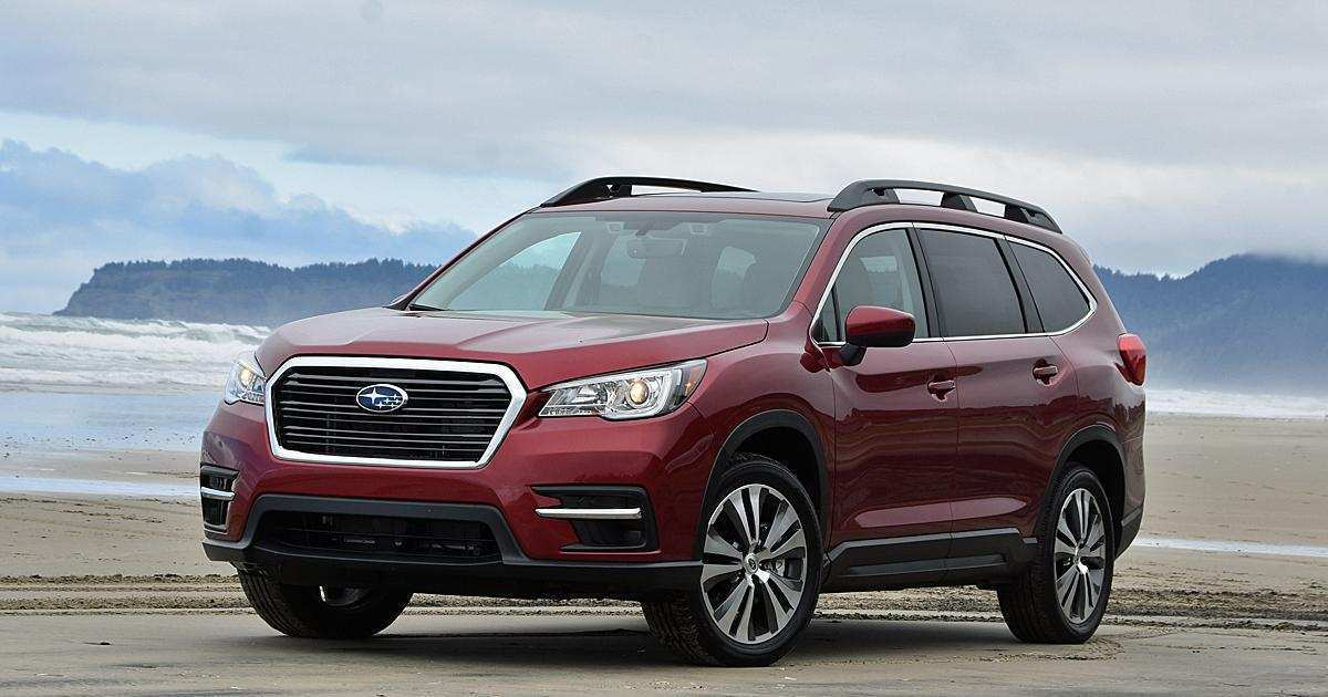40 Concept of 2019 Subaru Ascent Mpg Spy Shoot for 2019 Subaru Ascent Mpg