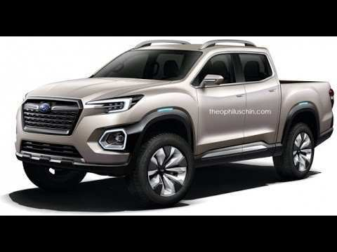 40 Concept of 2019 Subaru Viziv Pickup Engine for 2019 Subaru Viziv Pickup