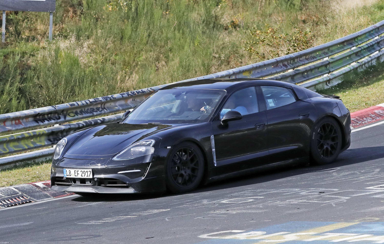 40 Great 2020 Porsche Mission E Electric Sedan Spied Testing Alongside Teslas First Drive for 2020 Porsche Mission E Electric Sedan Spied Testing Alongside Teslas