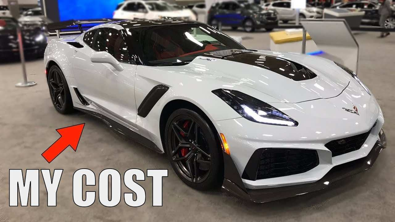 40 The 2019 Chevrolet Corvette Zr1 Price Performance with 2019 Chevrolet Corvette Zr1 Price