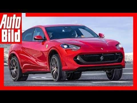 40 The 2019 Ferrari Suv Release with 2019 Ferrari Suv