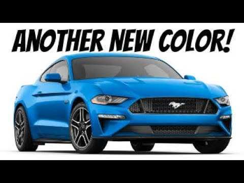 40 The 2019 Ford Mustang Colors Model by 2019 Ford Mustang Colors
