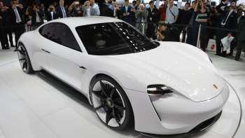 40 The Porsche Concept 2020 Spy Shoot with Porsche Concept 2020