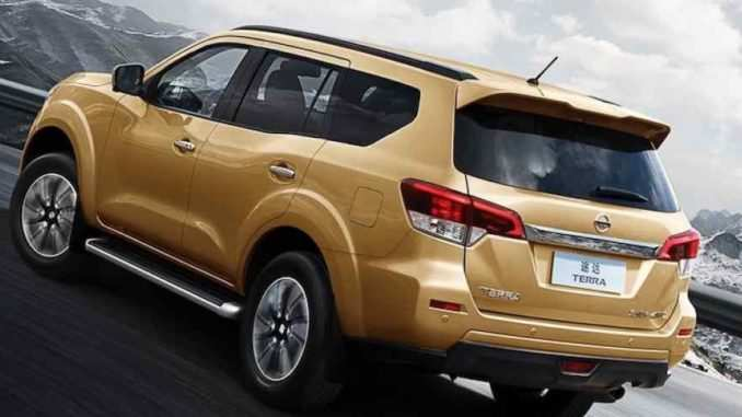 41 All New 2019 Nissan Terra New Review by 2019 Nissan Terra
