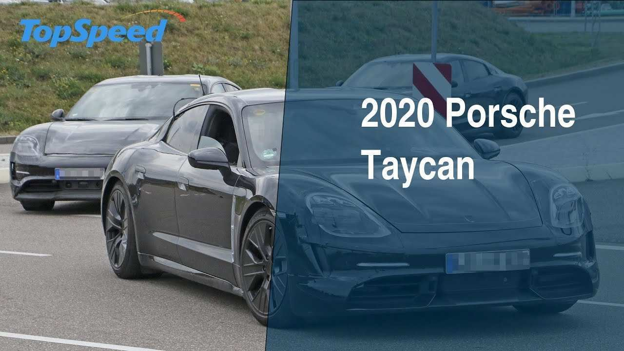 41 All New 2020 Porsche Taycan Redesign and Concept by 2020 Porsche Taycan