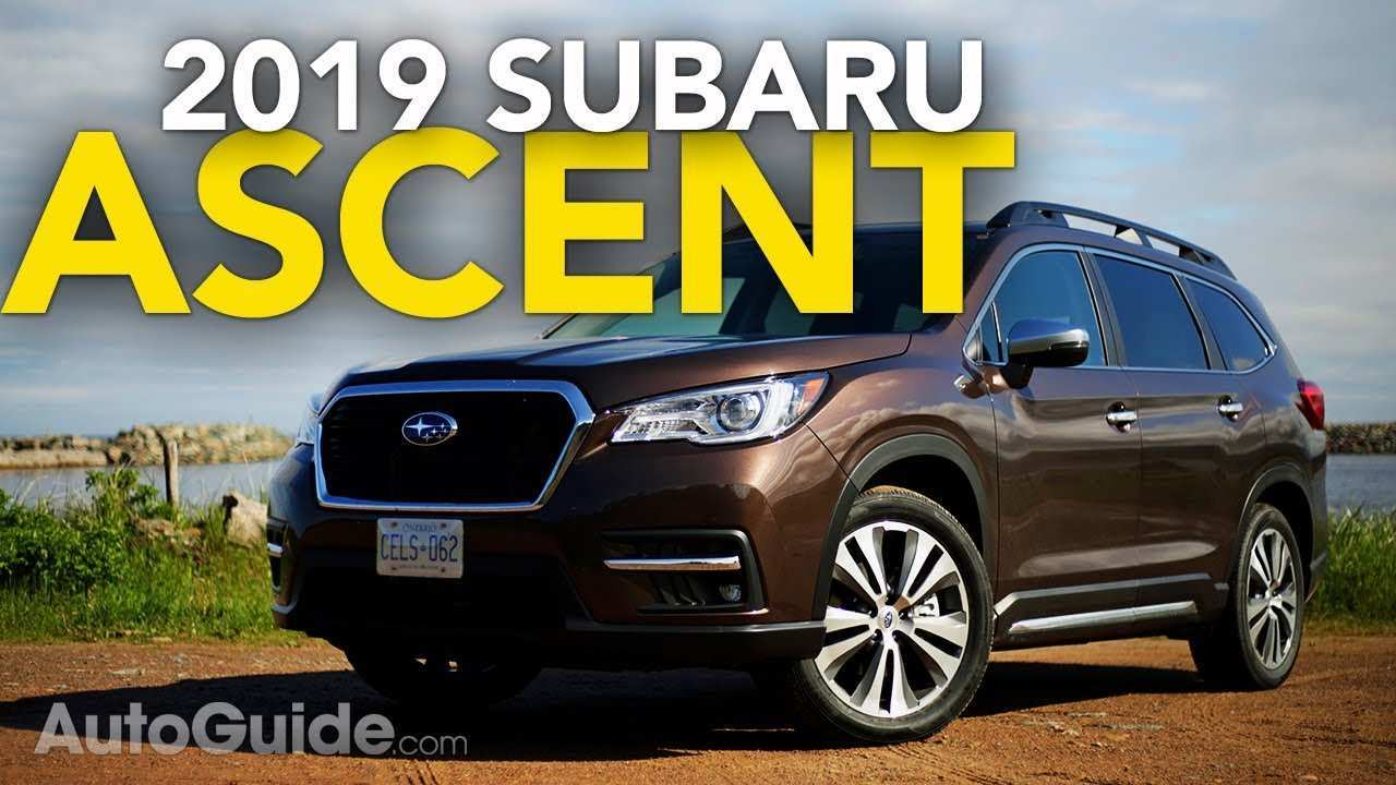 41 Best Review 2019 Subaru Ascent Mpg Redesign and Concept with 2019 Subaru Ascent Mpg
