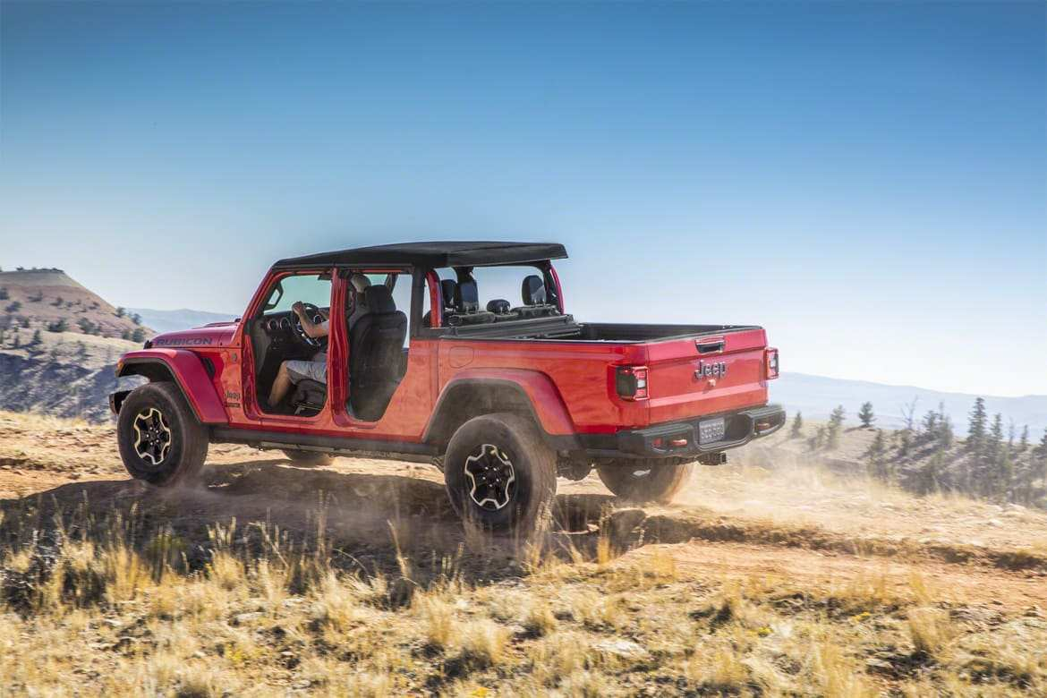 41 Best Review 2020 Jeep Wrangler Pickup Truck Interior by 2020 Jeep Wrangler Pickup Truck