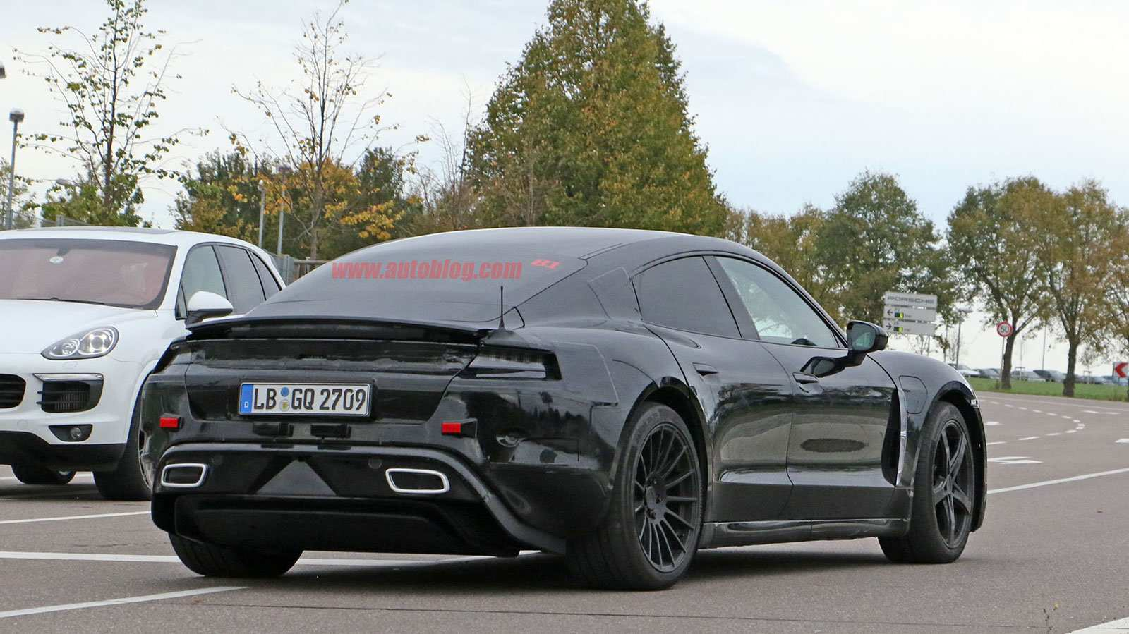 41 Best Review 2020 Porsche Mission E Electric Sedan Spied Testing Alongside Teslas Style for 2020 Porsche Mission E Electric Sedan Spied Testing Alongside Teslas