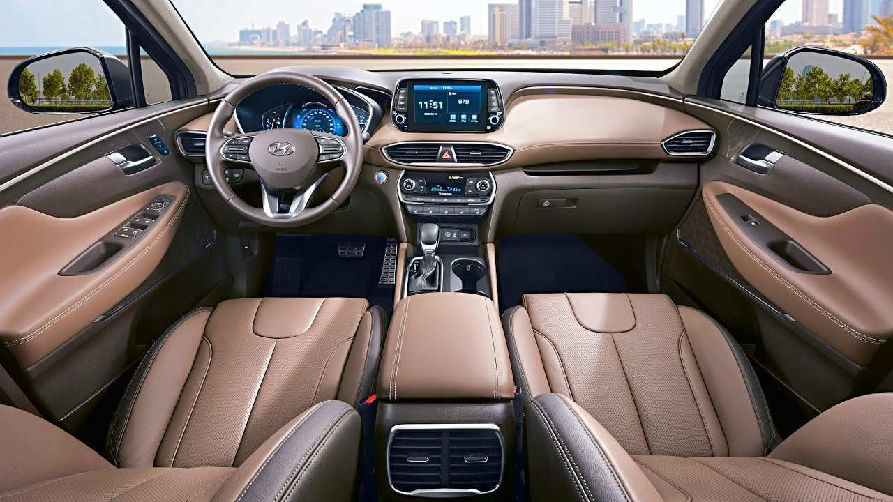 41 Concept of 2019 Hyundai Santa Fe Interior Spesification with 2019 Hyundai Santa Fe Interior