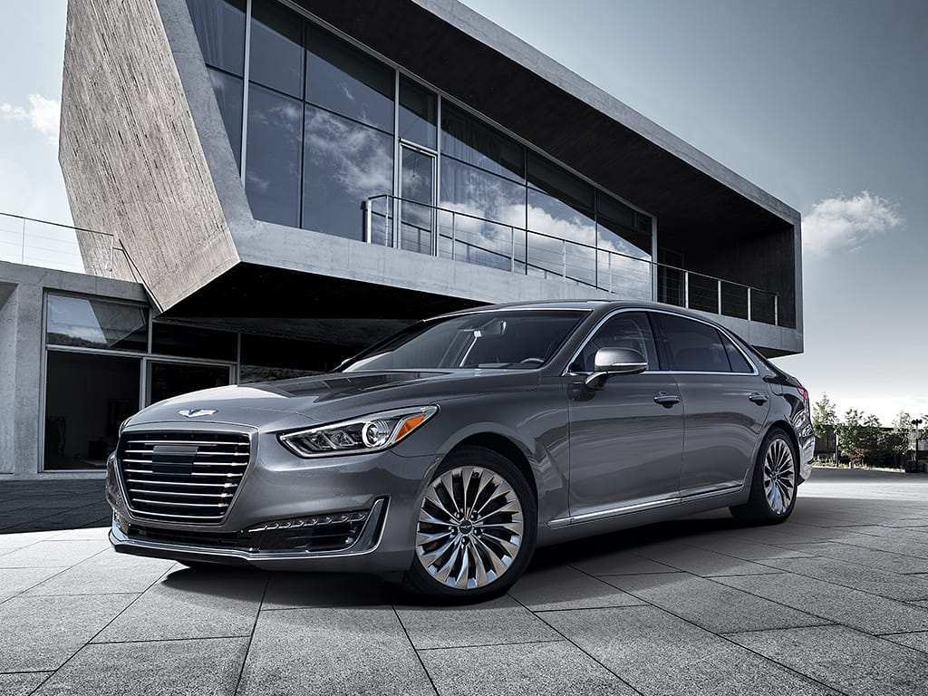 41 Gallery of 2019 Hyundai Genesis G90 Redesign and Concept with 2019 Hyundai Genesis G90