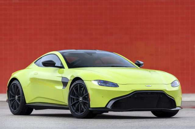 41 Great 2019 Aston Martin Vantage Predictably Stunning Spy Shoot for 2019 Aston Martin Vantage Predictably Stunning