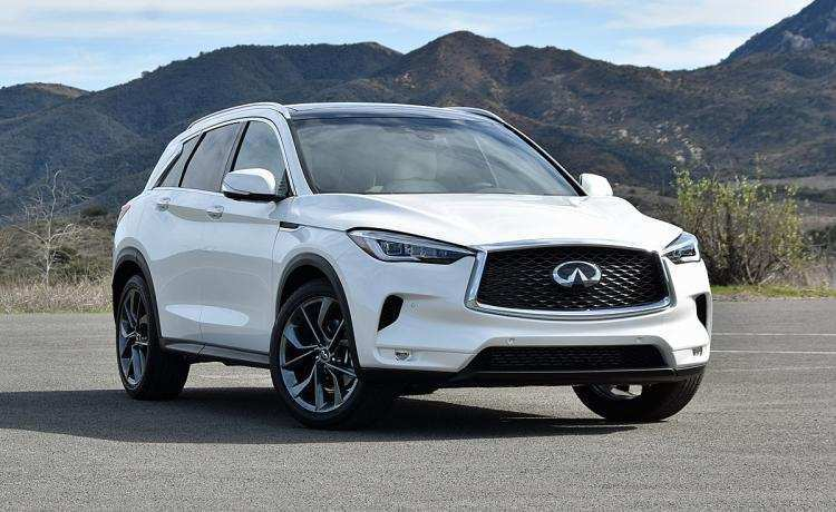 42 All New 2019 Infiniti Gx50 Spy Shoot by 2019 Infiniti Gx50