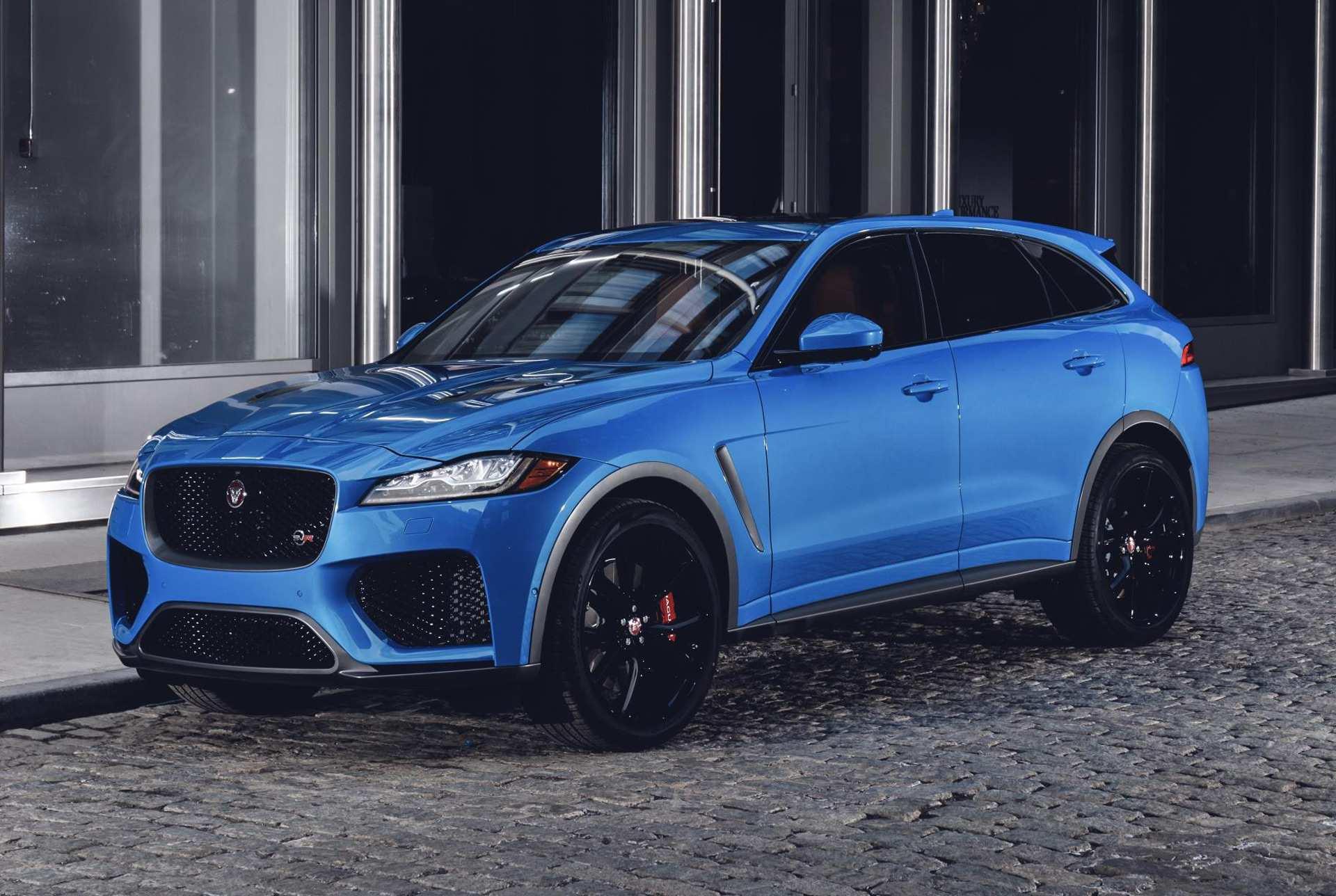 42 All New 2019 Jaguar F Pace Svr Spy Shoot by 2019 Jaguar F Pace Svr
