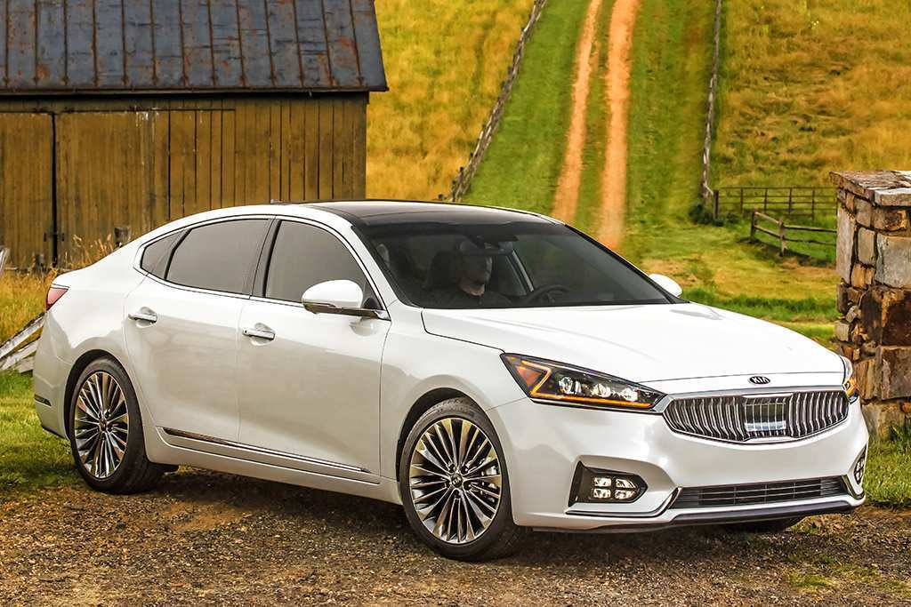 42 Gallery of 2019 Kia Cadenza Exterior for 2019 Kia Cadenza