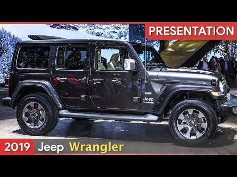42 Great 2019 Jeep Wrangler Jl Concept for 2019 Jeep Wrangler Jl