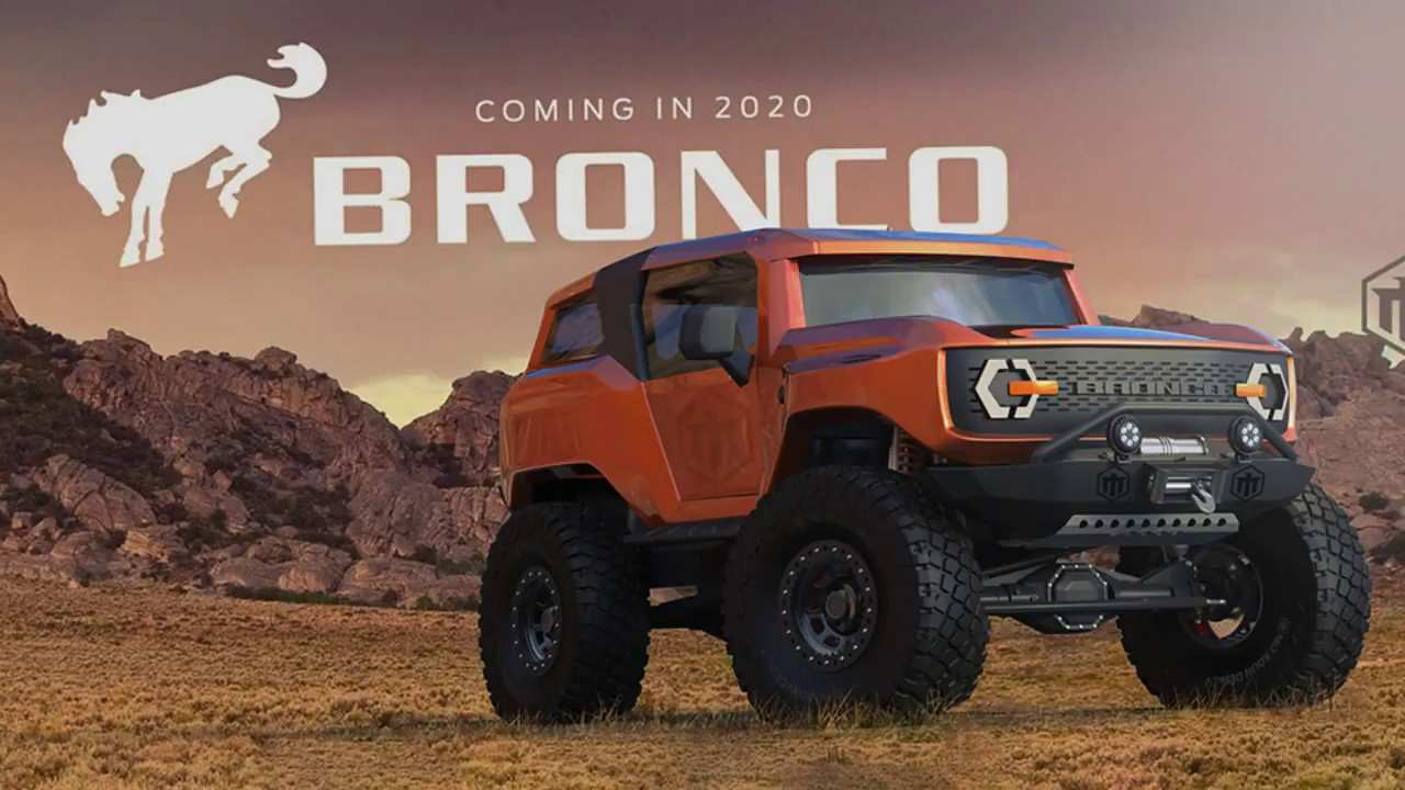 42 New 2020 Ford Bronco Design Review for 2020 Ford Bronco Design