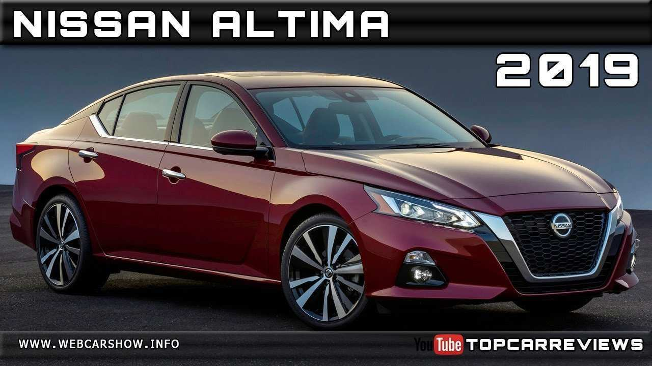 43 All New 2019 Nissan Altima Rendering Review with 2019 Nissan Altima Rendering