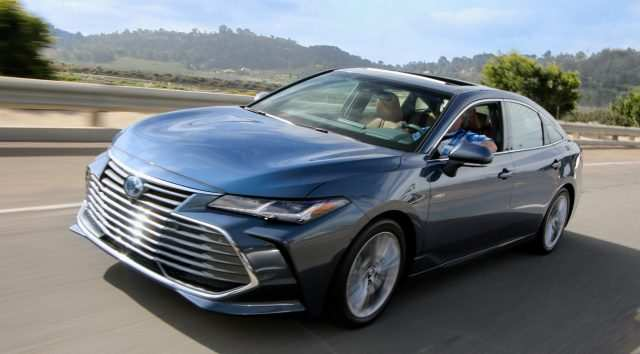 43 All New 2019 Toyota Avalon Review Rumors with 2019 Toyota Avalon Review