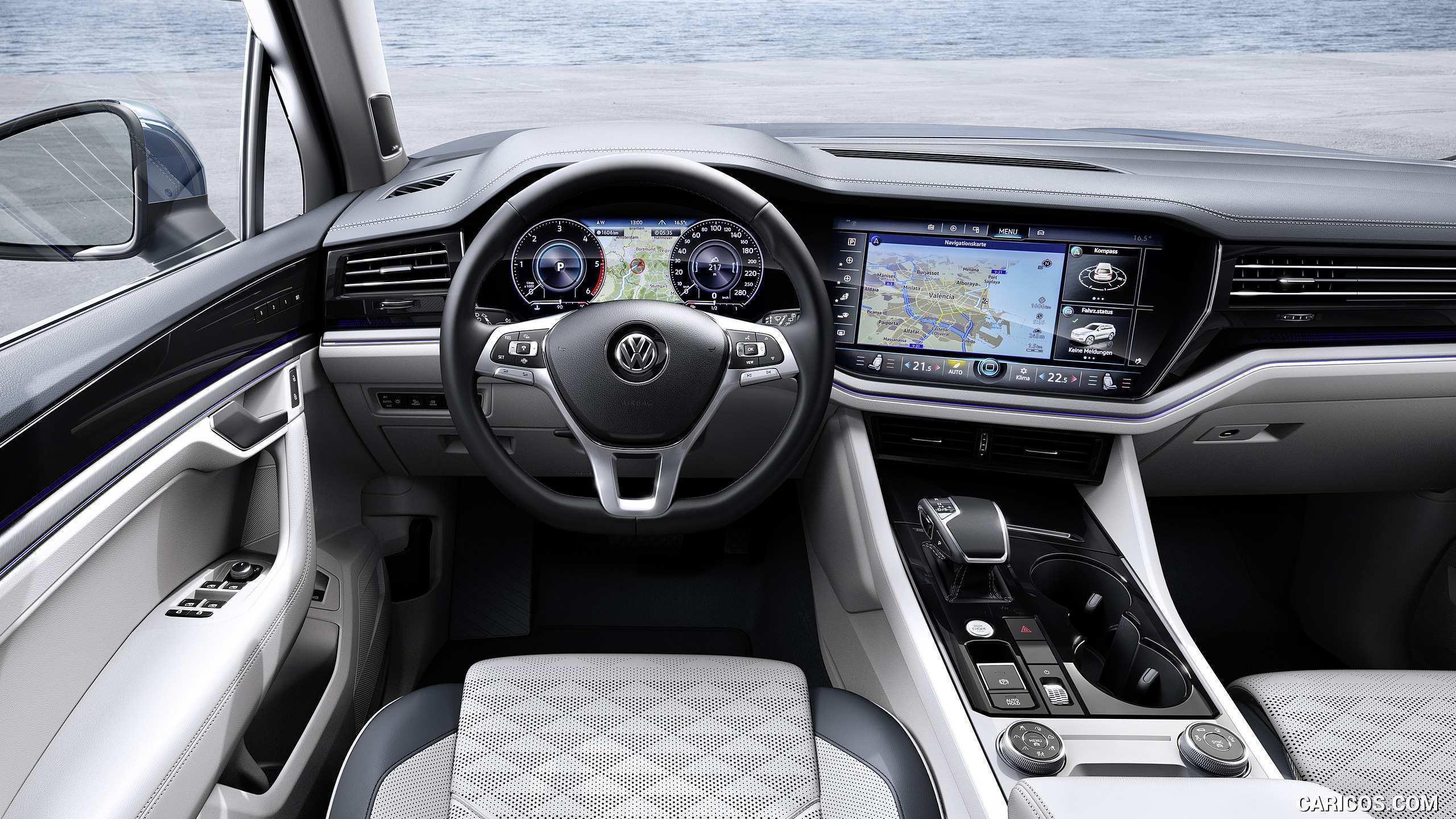 43 All New 2019 Volkswagen Touareg Interior Speed Test by 2019 Volkswagen Touareg Interior