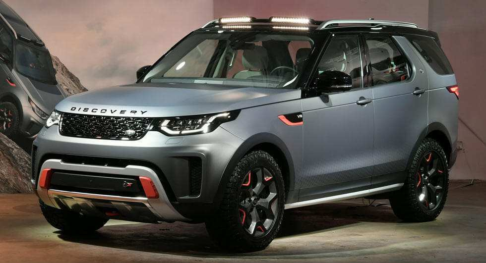 43 Concept of 2019 Land Rover Discovery Svx First Drive for 2019 Land Rover Discovery Svx