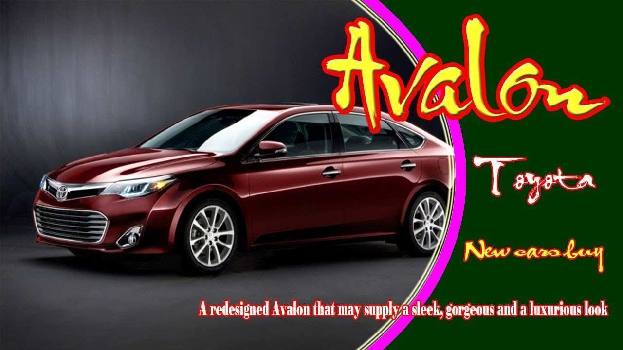 43 Gallery of 2020 Toyota Avalon Redesign Pictures with 2020 Toyota Avalon Redesign