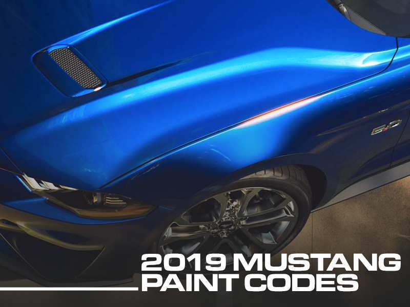 43 New 2019 Ford Mustang Colors Specs with 2019 Ford Mustang Colors