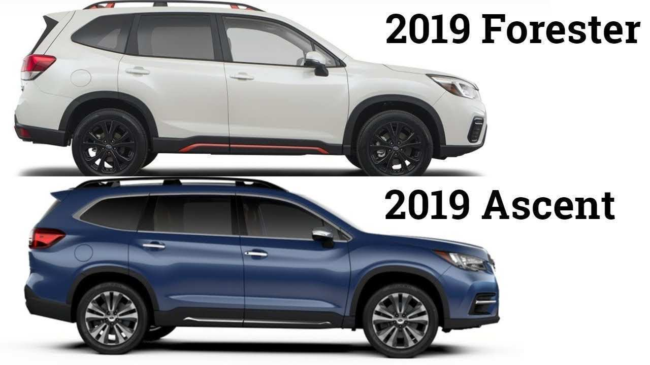 43 New 2019 Subaru Ascent Dimensions Configurations by 2019 Subaru Ascent Dimensions