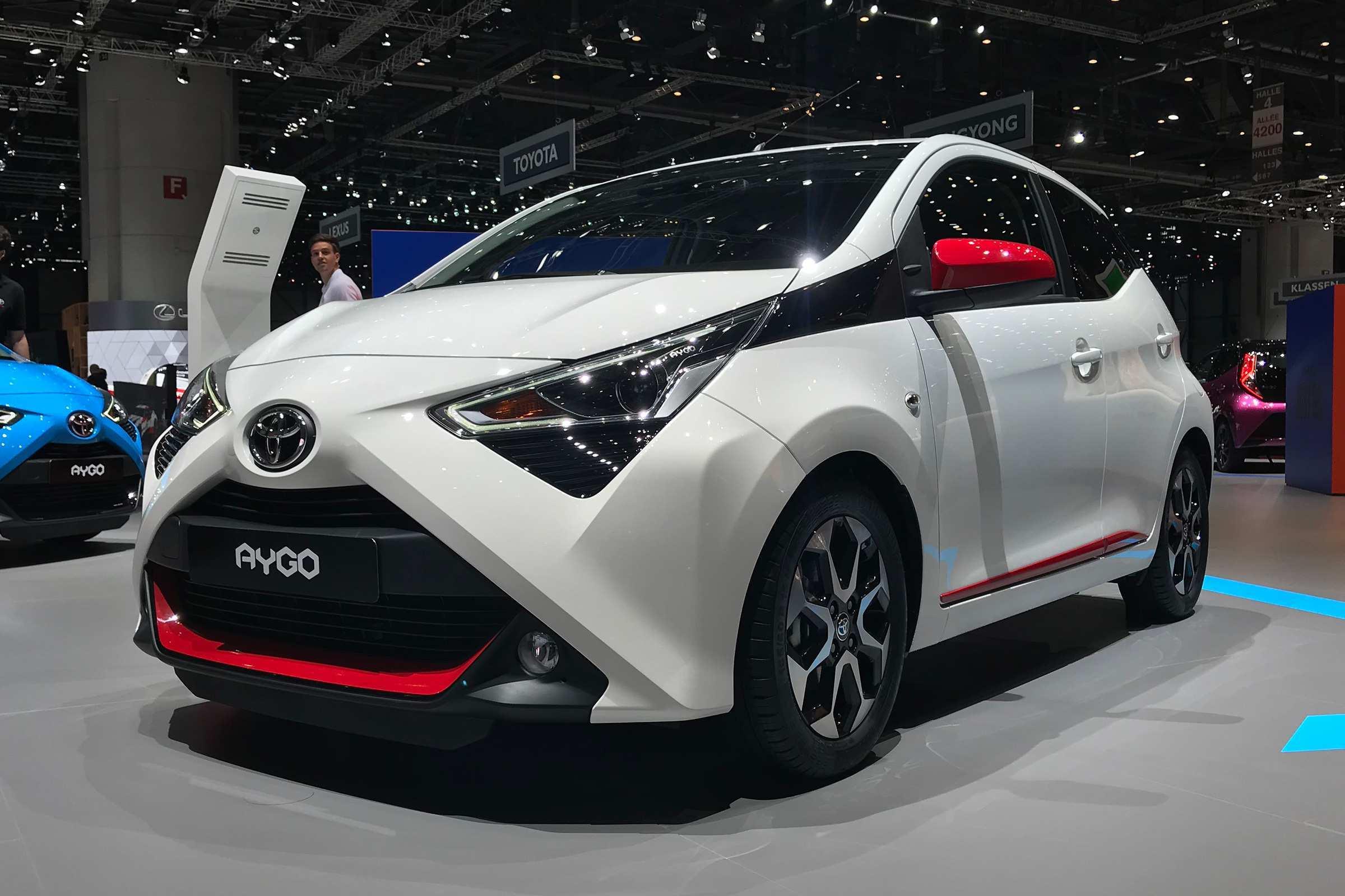 43 The Toyota Aygo 2020 Spy Shoot with Toyota Aygo 2020
