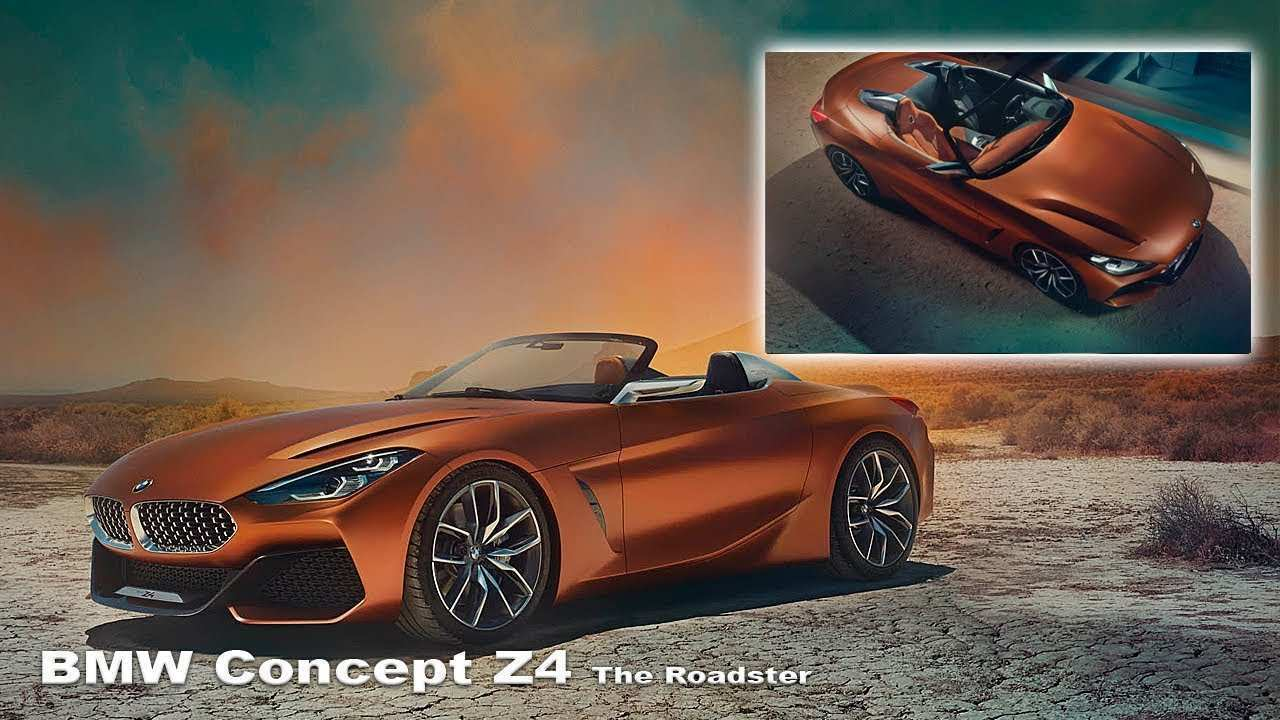 44 All New 2019 Bmw Z4 Concept Release Date by 2019 Bmw Z4 Concept